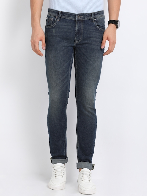 Indian Terrain Men Blue Skinny Fit Jeans