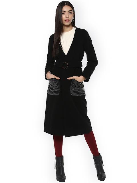 Kazo Black Sara Overcoat