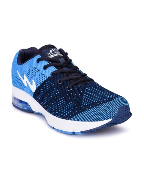 Campus Men Navy Blue Running Shoes