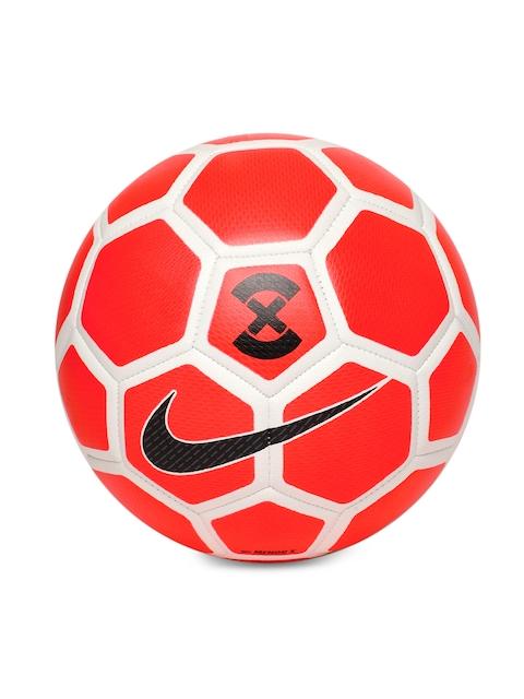 Nike Unisex Red & White NK MENOR X Printed Football