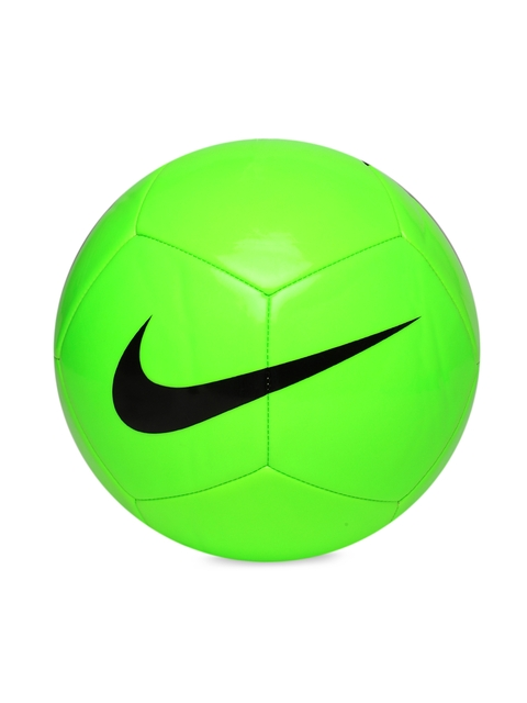 Nike Unisex Fluorescent Green NK PTCH TEAM Printed Football