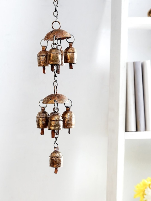 Unravel India Copper Handmade Decorative Windchime