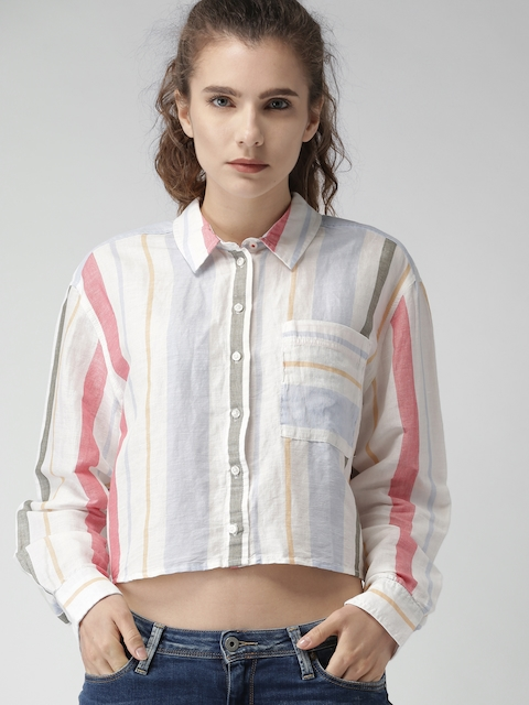 b3559848 Tommy Hilfiger Women Shirts Price List in India 9 June 2019 | Tommy ...