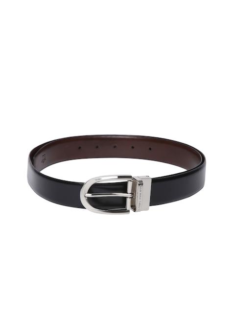 Louis Philippe Men Black & Brown Reversible Belt