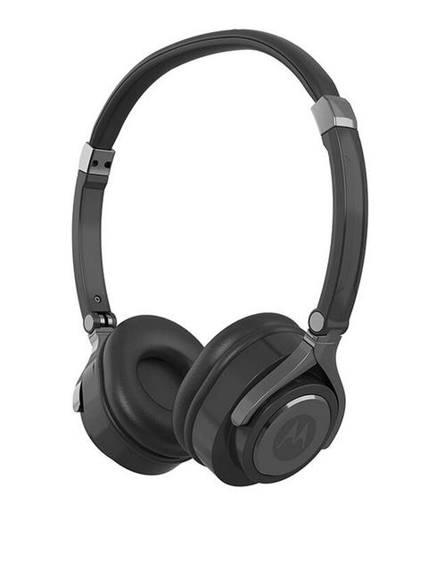 Motorola Black Pulse 2 Wired Headphone With Mic