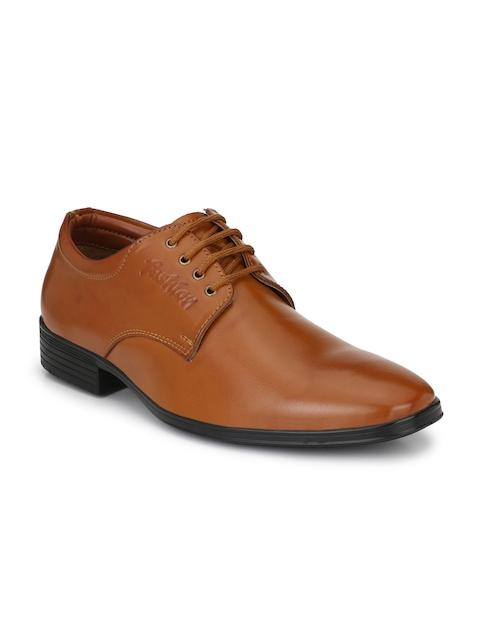 Eego Italy Men Tan Brown Formal Shoes
