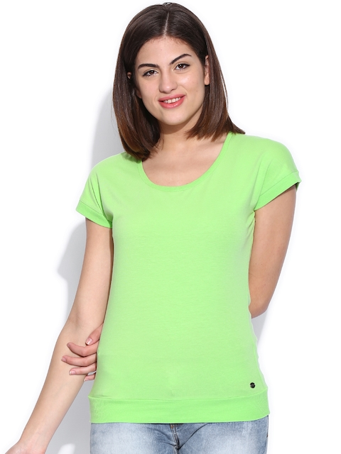 U.S. Polo Assn. Women Green T-shirt