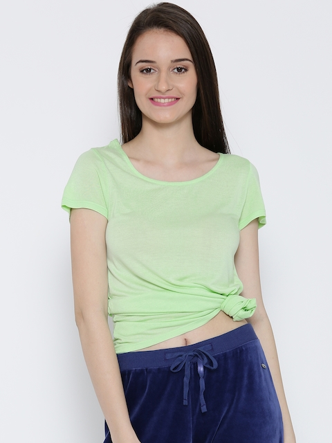United Colors of Benetton Women Green Top
