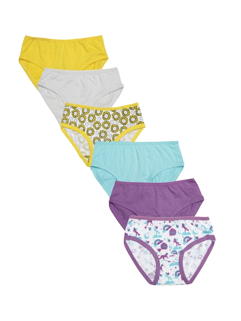Claesens Holland Girls Pack of 6 Briefs