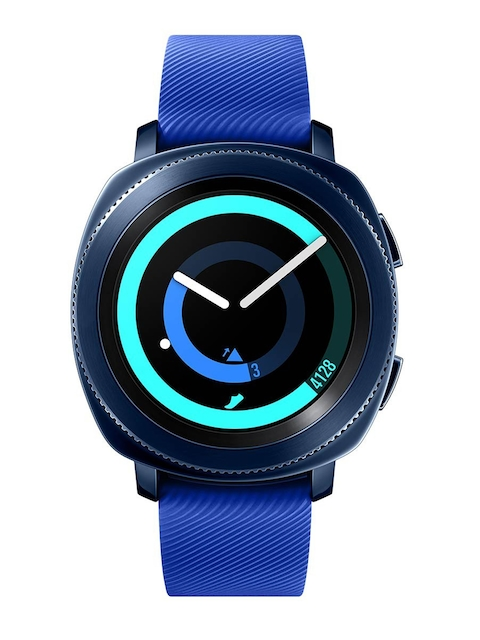 Samsung Unisex Blue Gear Sports Smart Watch SM-R600NZBA