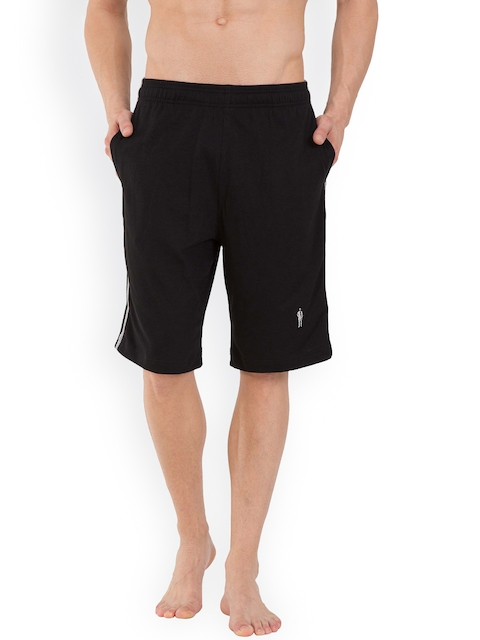 Jockey 24 x 7 Men Black Sport Shorts 9426