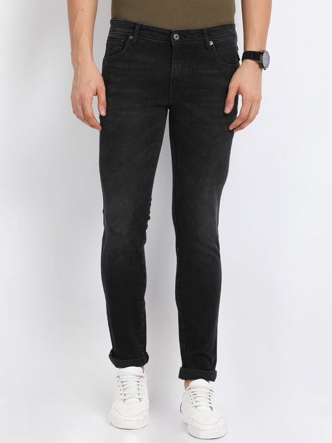 Indian Terrain Men Black Skinny Fit Jeans