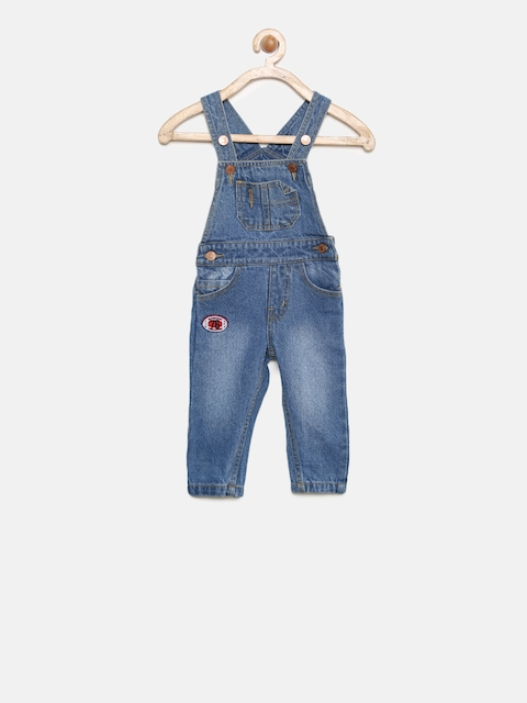 Donuts Boys Blue Dungarees