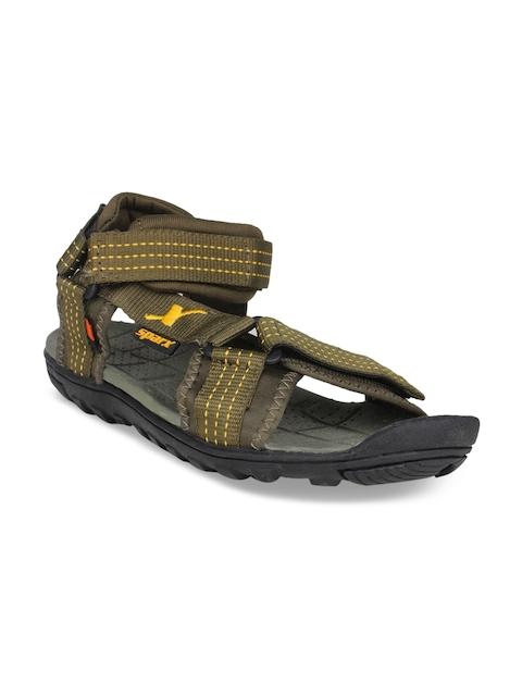 Sparx Men Olive Green Comfort Sandals