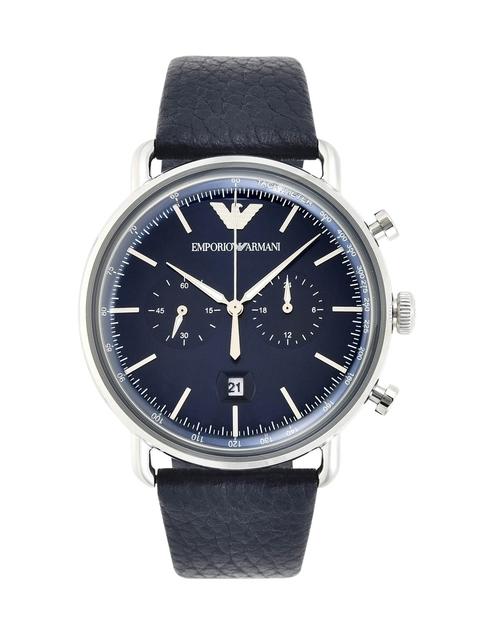 Emporio Armani Aviator Blue Watche