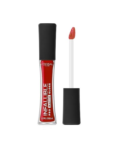 LOreal Infallible Pro Matte Shanghai Scarlet 308 Liquid Lip Gloss