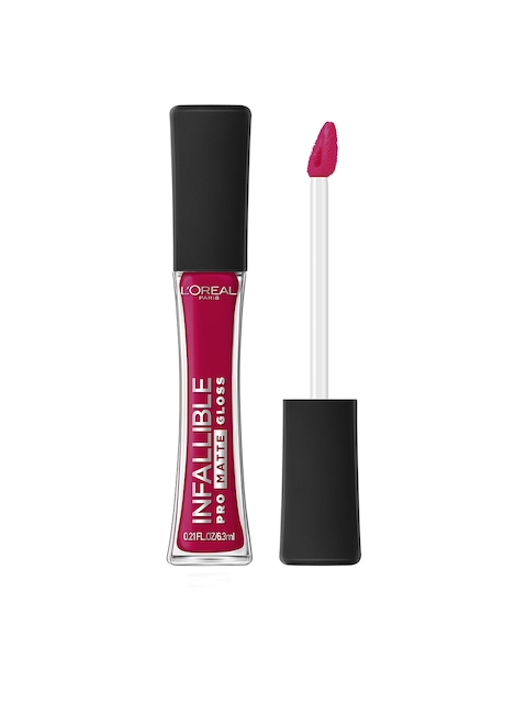 LOreal Infallible Pro Matte Rouge Envy Lip Gloss 312