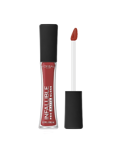 LOreal Infallible Pro Matte Bare Attraction Lip Gloss 318