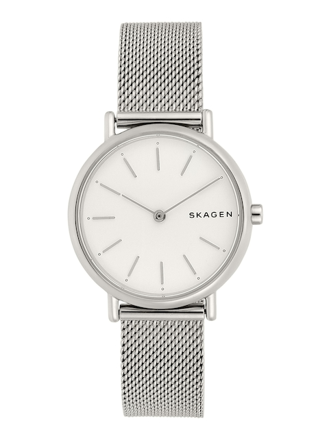 SKAGEN Women White & Silver-Toned Analogue Watch SKW2692I