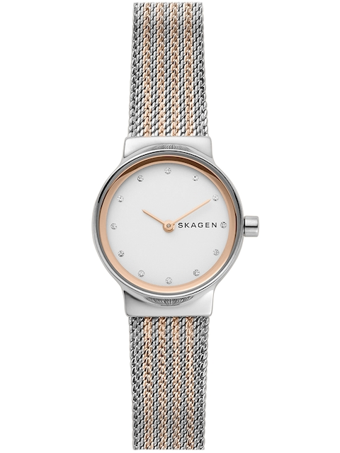 SKAGEN Women White & Silver-Toned Analogue Watch SKW2699I
