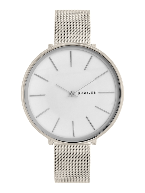 SKAGEN Women White & Silver-Toned Analogue Watch SKW2687I