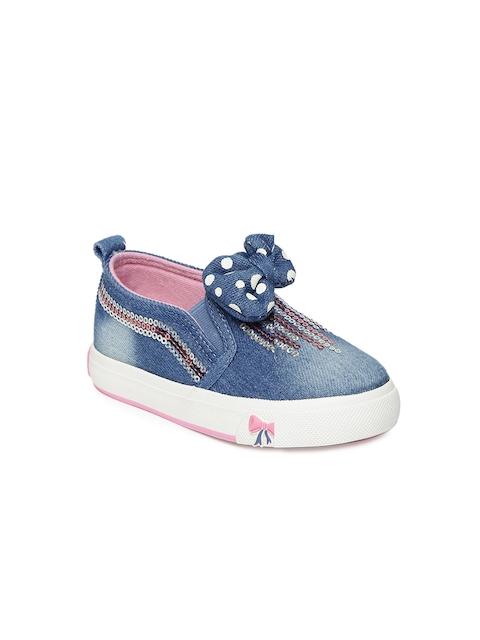 Walktrendy Girls Blue Sneakers