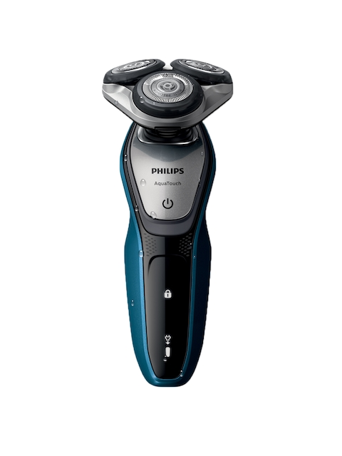 Philips Men Black Aqua Touch Wet or Dry Shaver S5420/06