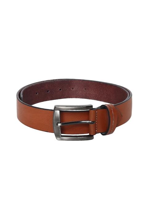 Roadster Men Tan Solid Belt
