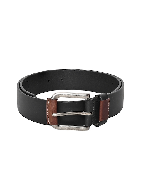 Roadster Men Black Solid Belt