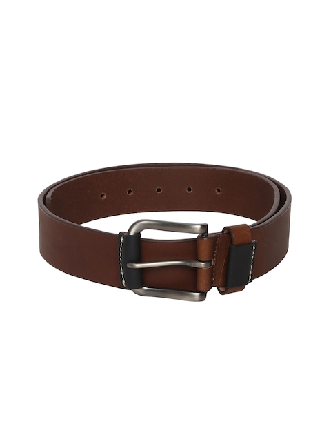 Roadster Men Brown Solid Belt
