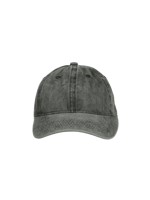 Ayesha Women Grey Solid Baseball Cap