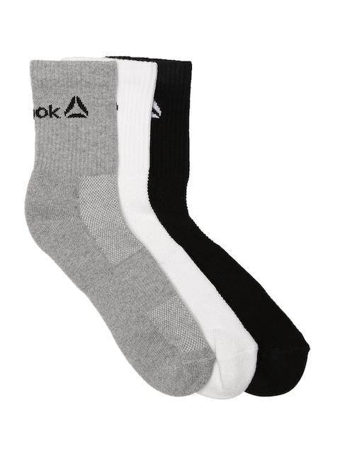 Reebok Men Pack of 3 Above Ankle-Length Socks