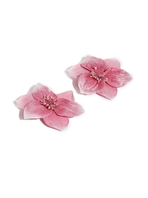 Accessorize Pink Set of 2 Alligator Hair Clips