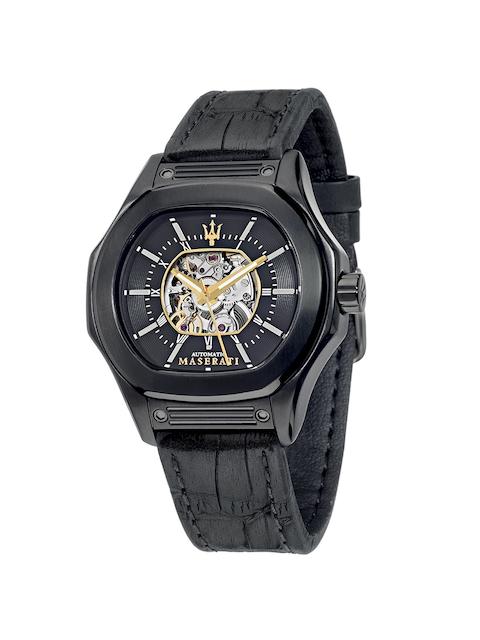 Maserati Men Black Analogue Watch R8821116008