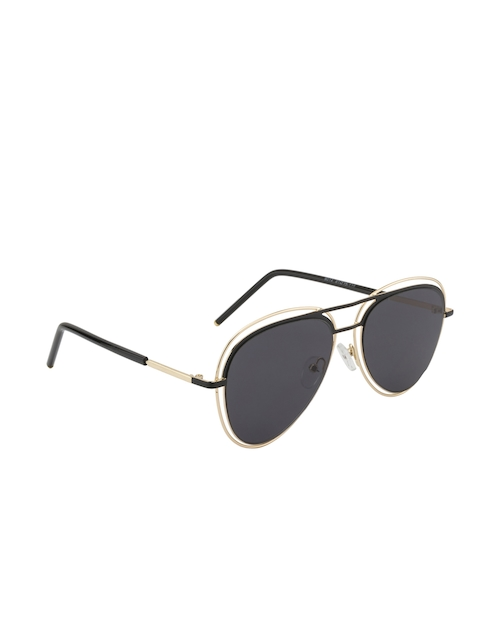 Gold Berg Unisex Aviator Sunglasses GB-9014_GLD
