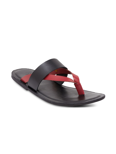 WCFC Men Red & Black Comfort Sandals