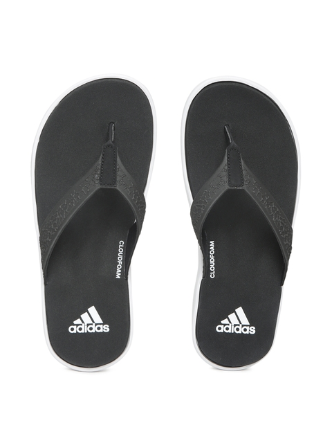 Adidas Women Black Solid Slip-On