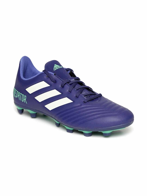 Adidas Men Navy Predator 18.4 FXG Football Shoes