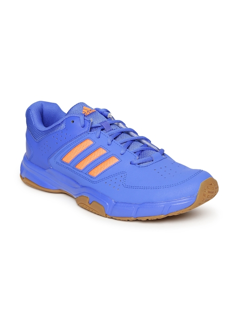 Adidas Men Blue QUICKFORCE 3.1 Badminton Shoes