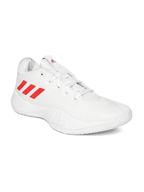 Adidas Men White NXT LVL SPD VI Basketball Shoes