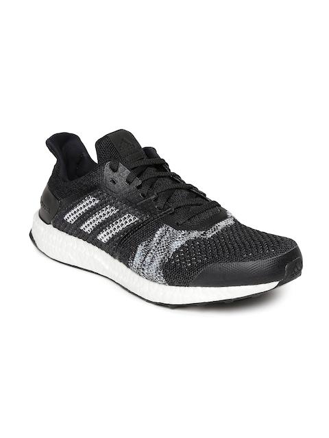 Adidas Men Black UltraBoost ST Running Shoes