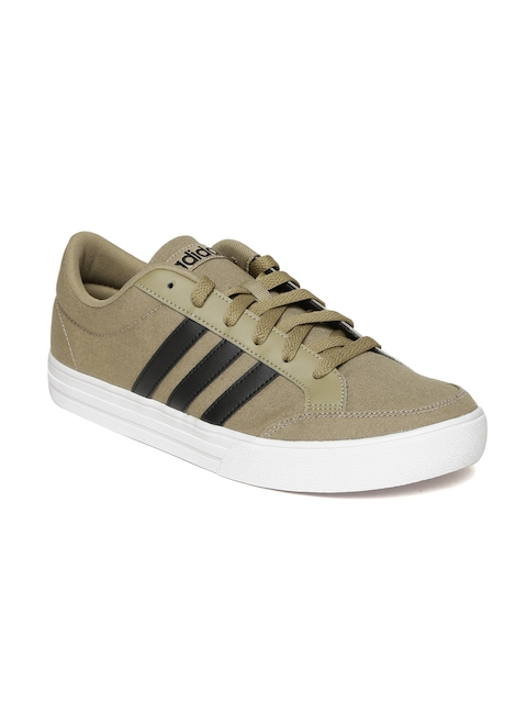 Adidas Men Brown Solid Casual Shoes