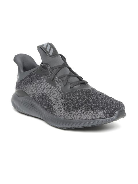 Adidas Men Charcoal Grey Alphabounce EM Running Shoes