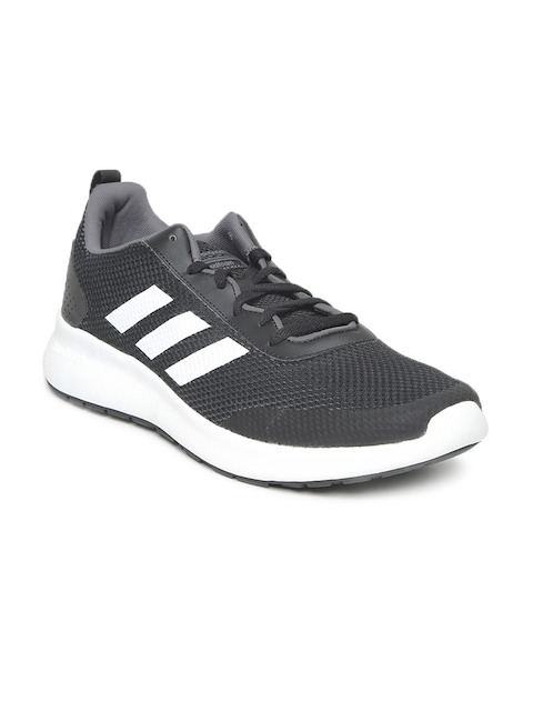 Adidas Men Black ELEMENT RACE Running Shoes