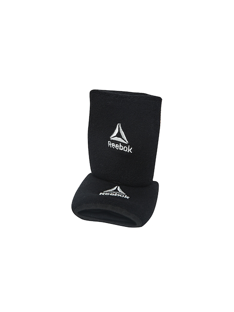 Reebok Unisex Set of 2 Black OS TR Wristbands