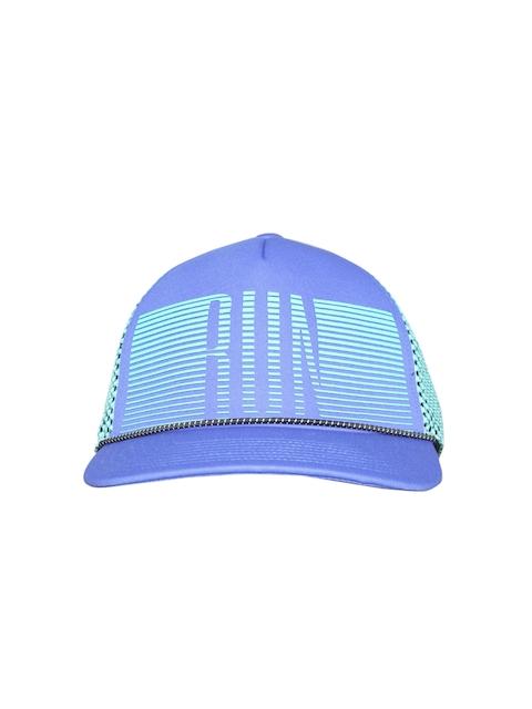 Reebok Unisex Blue Printed Snapback Cap