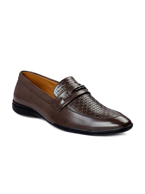 bacca bucci Men Coffee Brown Loafers