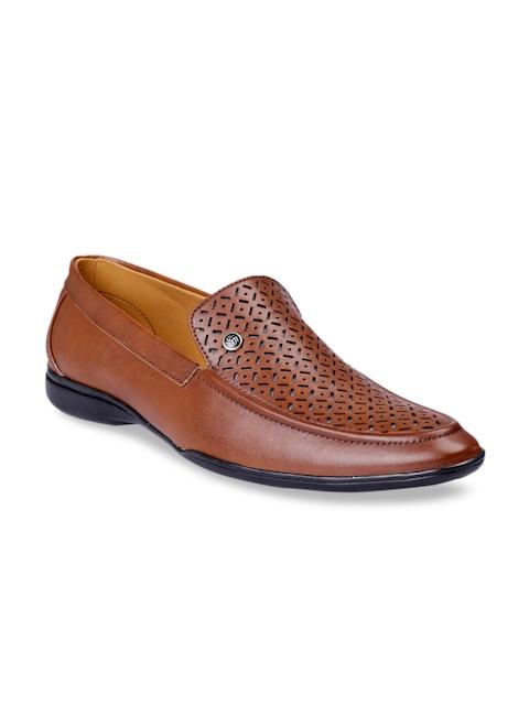bacca bucci Men Tan Loafers