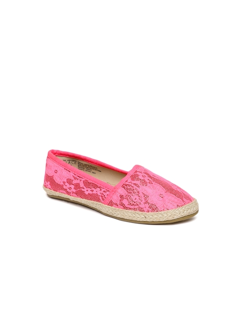 The Childrens Place Girls Pink Espadrilles