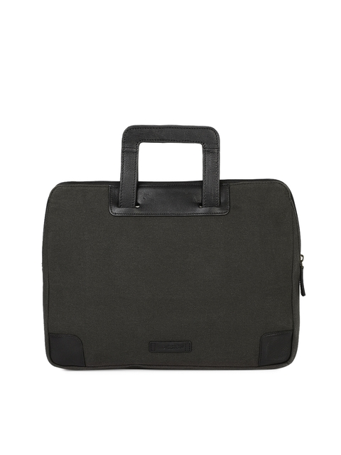 Hidesign Men Black Solid Laptop Bag
